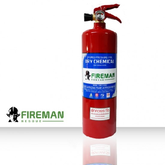 Fire Extinguisher Factory - Green Cross Safety - FIREMAN HATSUTA Dry chemical fire extinguisher